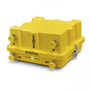 TROTEC Filtr HEPA HC MultiQube - osuszanie strefy izolacji