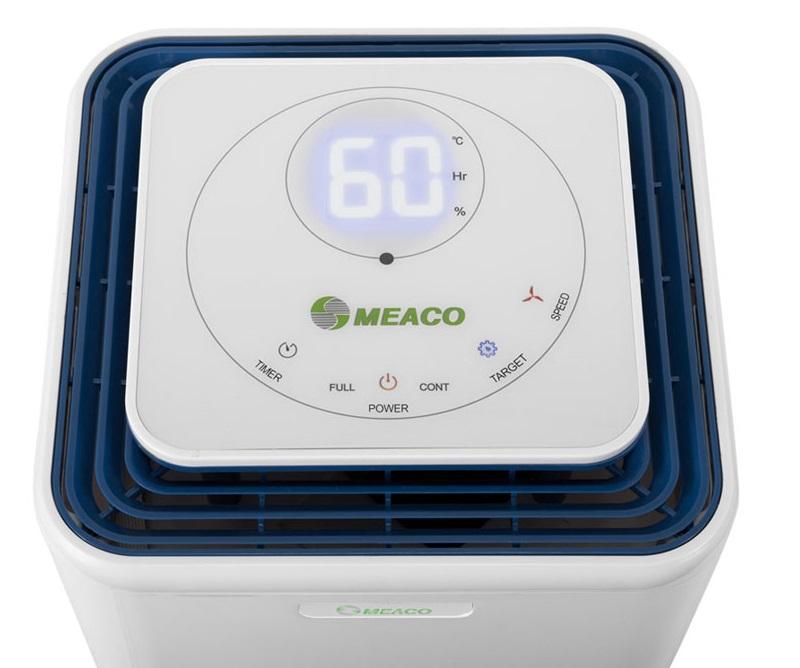 Osuszacz powietrza Meaco 12 L - AH wyświetlacz